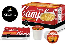 USA: Keurig Green Mountain launches Campbell's soup in K-Cup pods