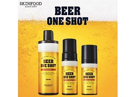 South Korea: Skinfood introduces beer-based skin care for men