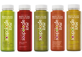"""UK: Soupologie launches """"raw"""" soup"""