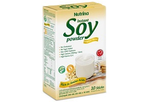 """Thailand: Nutrina Interfoods launches """"healthy"""" soy powder"""