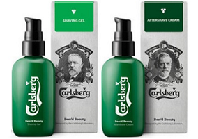 Denmark: Carlsberg expands male grooming line with shaving products