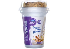 Uruguay: Conaprole launches Bio Transit yoghurt with granola and chia