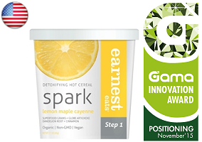 Gama Innovation Award: Earnest Eats Detoxifying Hot Cereal