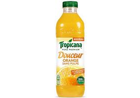 "France: PepsiCo launches ""less acidic"" Tropicana orange juice"