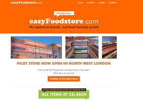 UK: EasyGroup opens discount grocery store