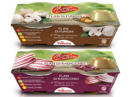 Italy: Valbona introduces new vegetable custard flavours