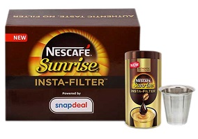 """India: Nestle introduces """"insta-filter"""" coffee"""