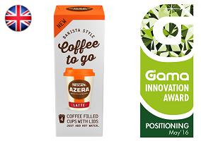 Gama Innovation Award: Nescafe Azera Coffee To Go