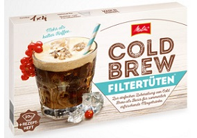 Germany: Melitta launches cold-brew coffee filters