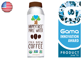Gama Innovation Award: Happy Tree Maple Water Cold Brew Coffee