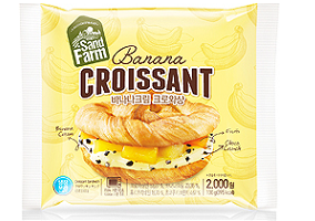 South Korea: Samlip introduces new banana cream croissant