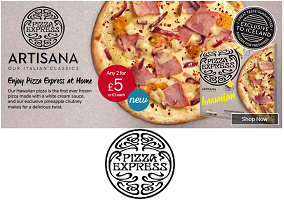 UK: Pizza Express enters frozen sector