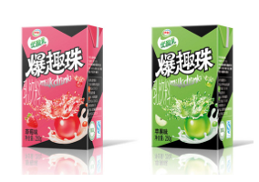 China: Yili launches UHT yoghurt drink with  juice-filled balls