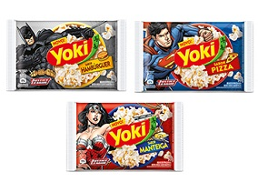 Brazil: General Mills launches Yoki hamburger and pizza popcorn