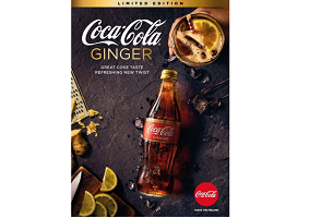 Australia: Coca-Cola launches limited edition Ginger flavour