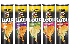 USA: Kellogg launches Pringles Loud