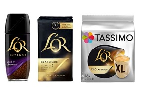 UK: JDE launches its L'Or coffee brand